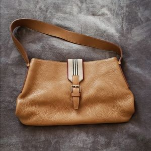 Burberry bag great condition brown leather